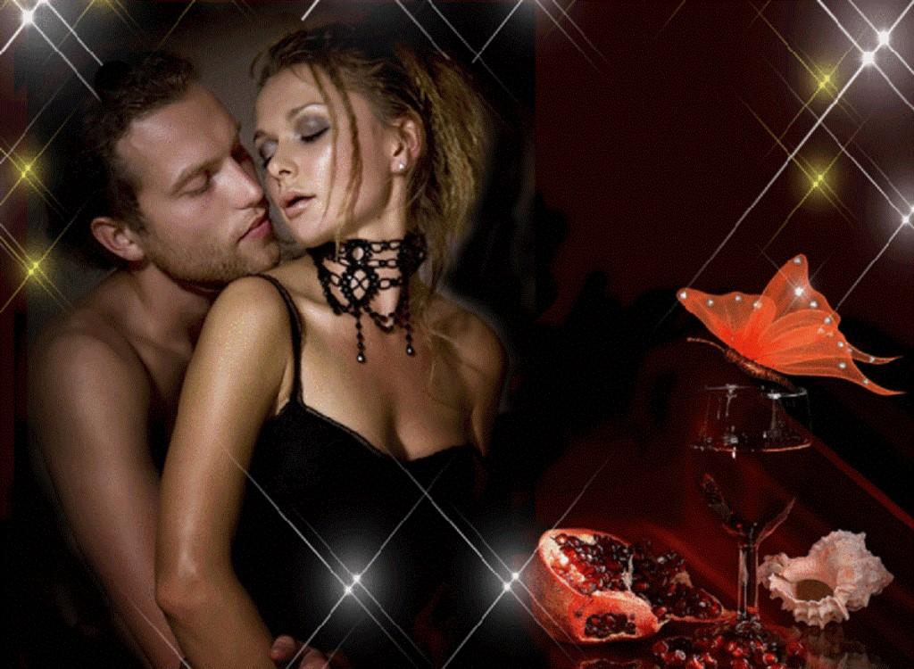 Гифы мужчина и женщина