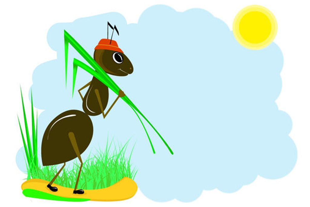 пота картинки муравьишки для оформления частности