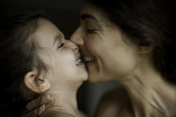 трогательно и ребенка фото мамы