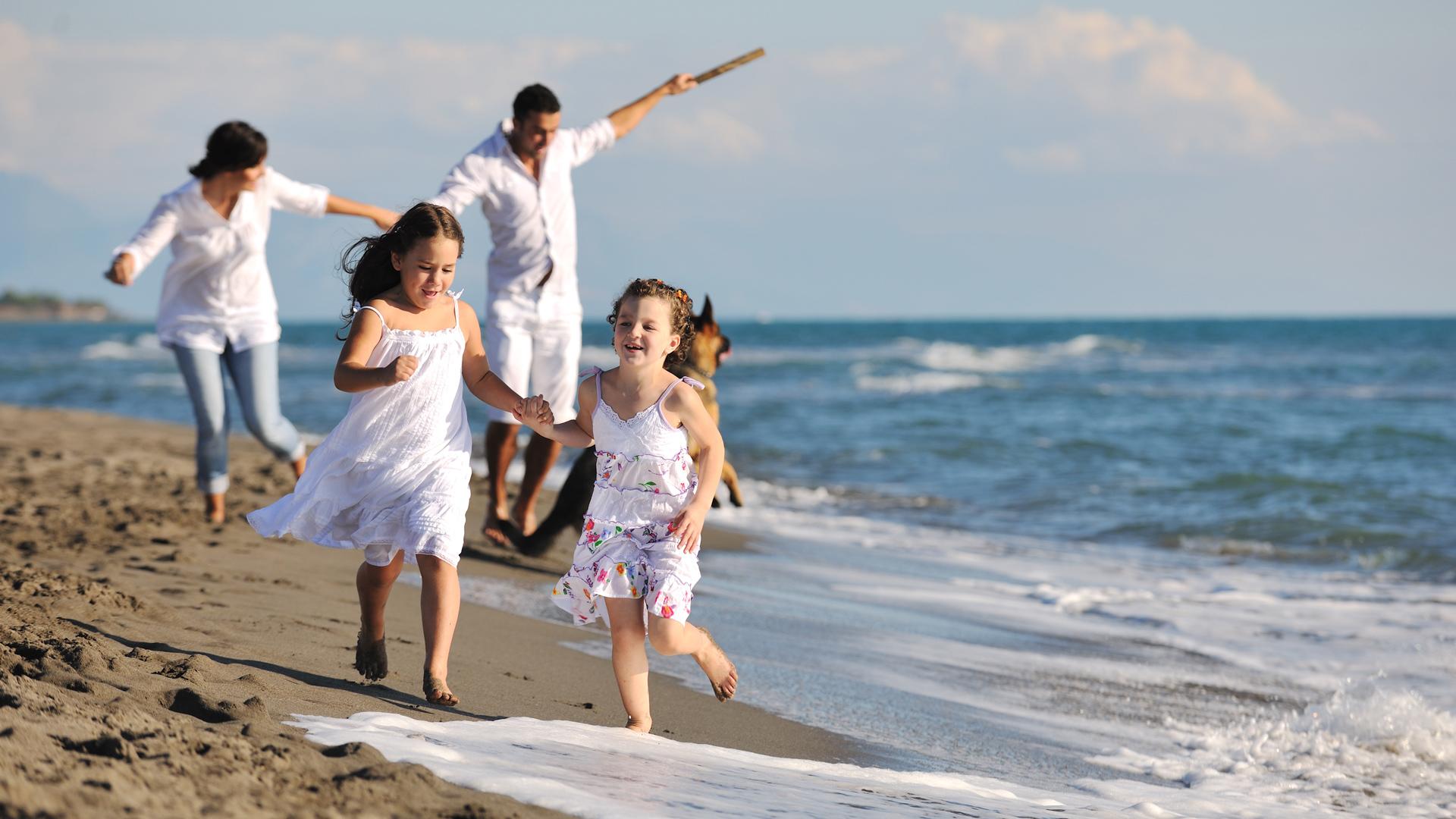 фото на рабочий стол семья возле моря статья посвящается классификации