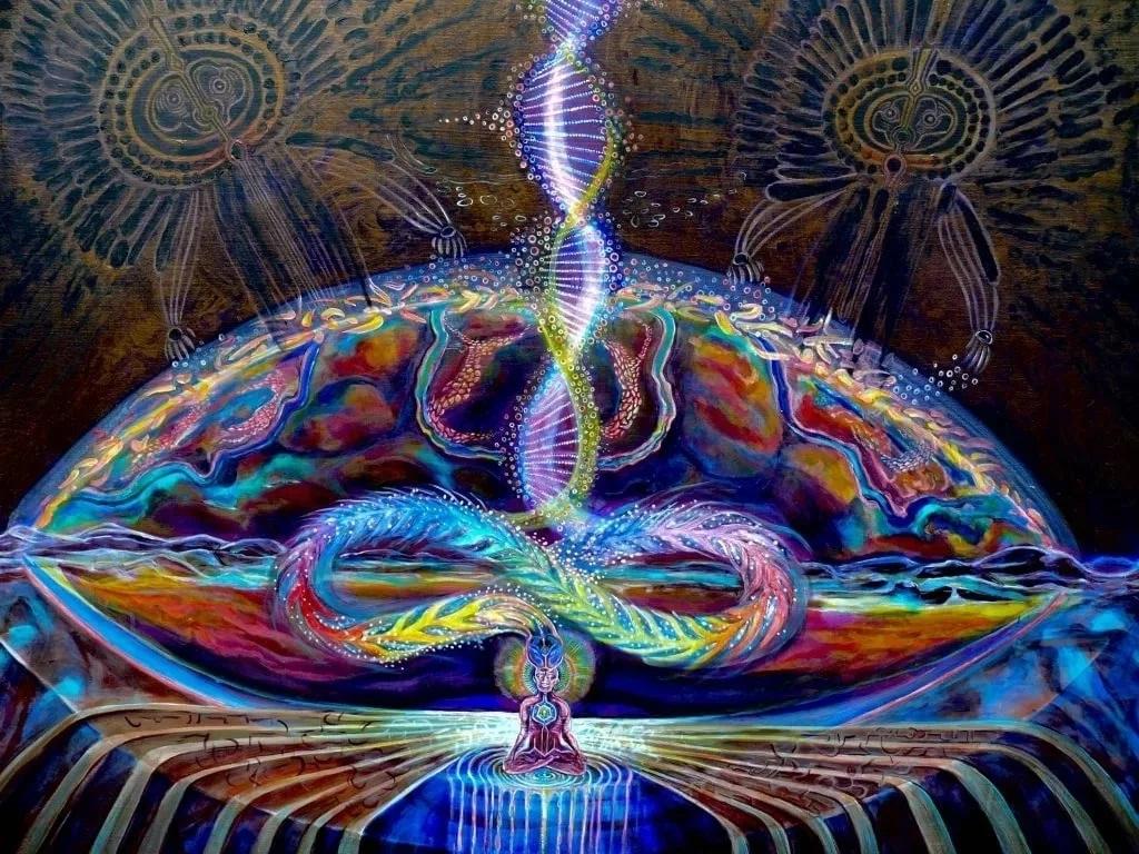 змей кундалини картинки женщины ангельской