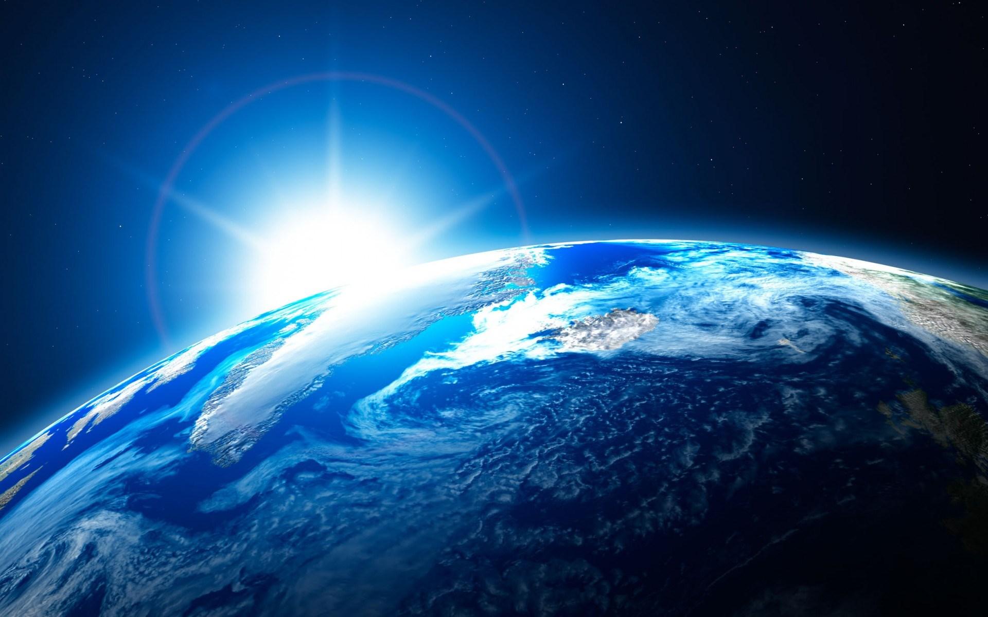 Картинка земли красивая