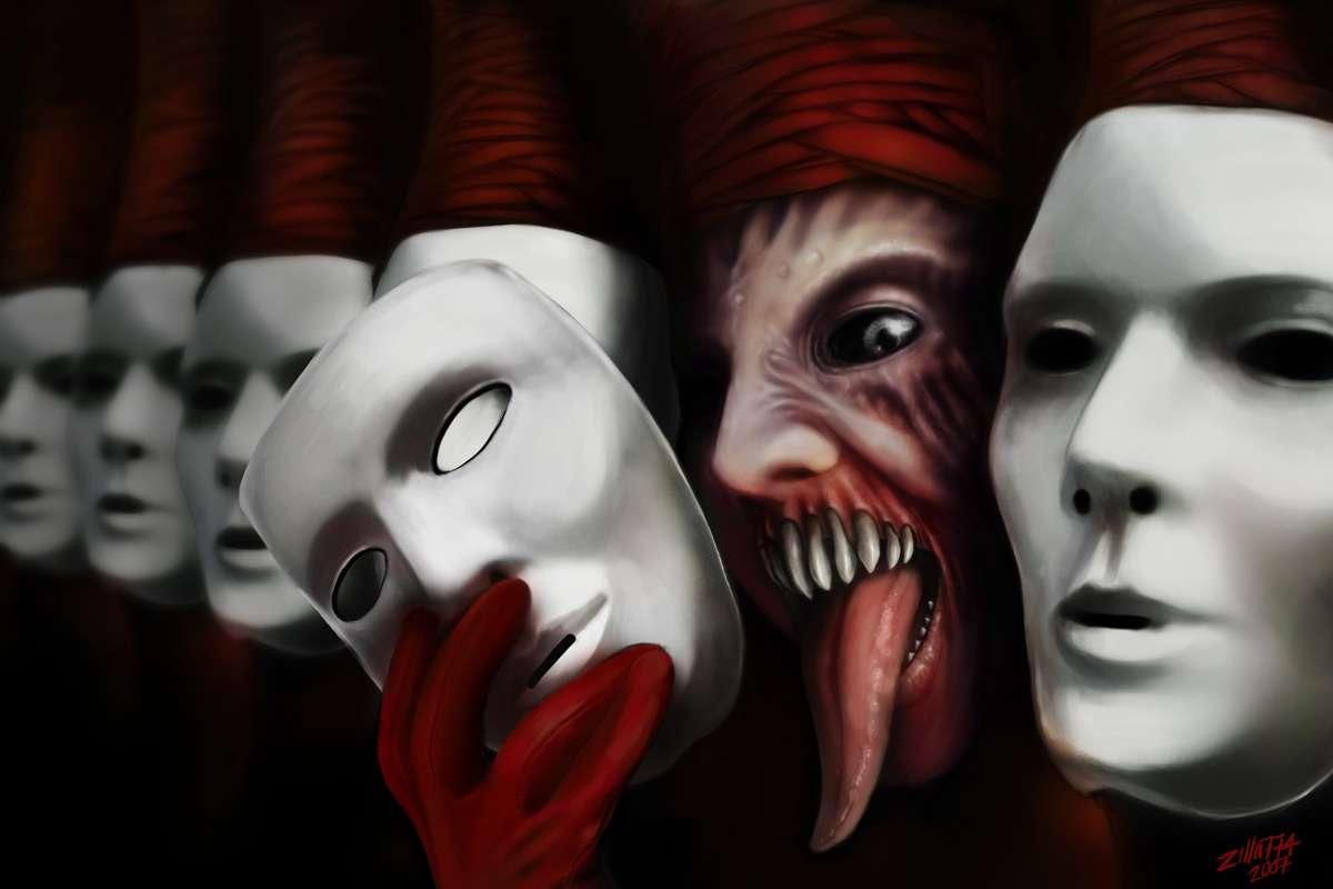 картинка про лживых людей двуличных цирк точно мало