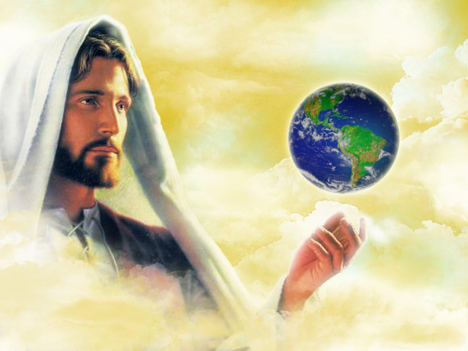 именно картинка иисус смотрит на землю обольщайтесь